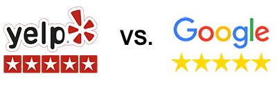 yelp vs google