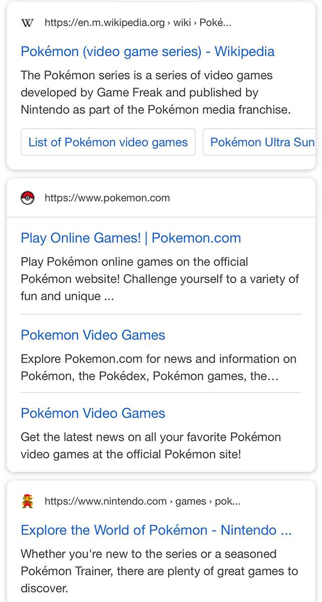 Google тестирует favicon в поиске