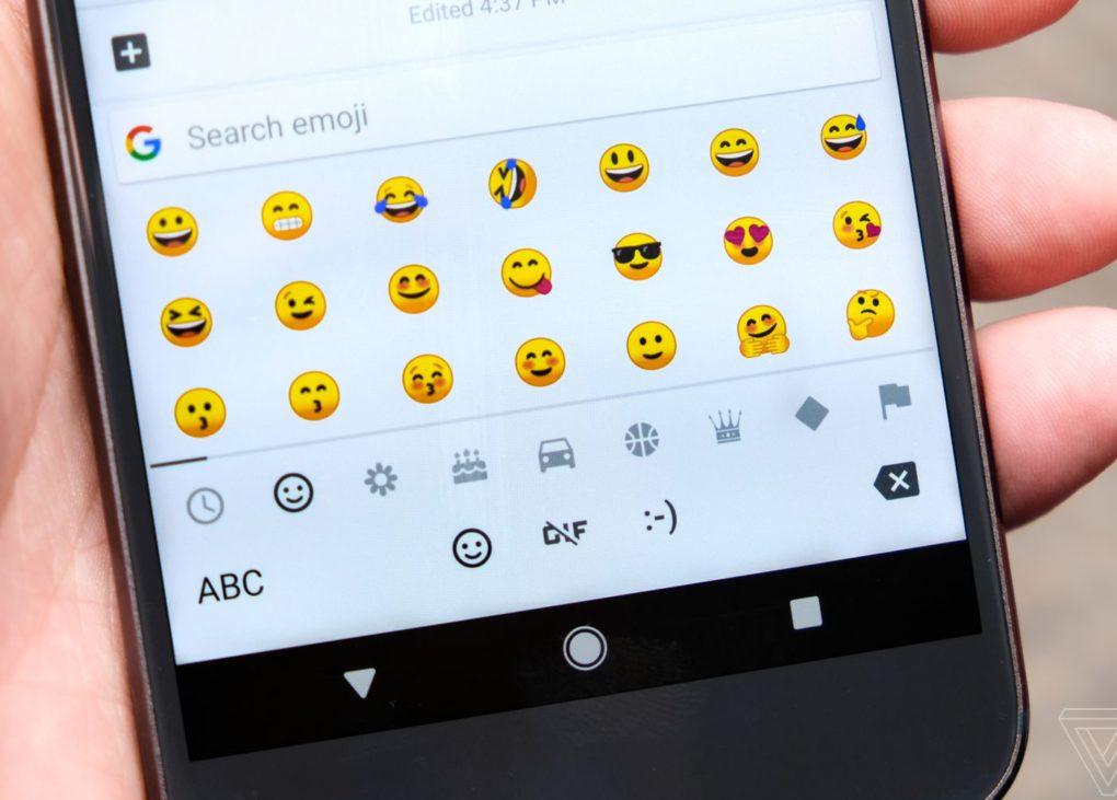 google emojis в serp